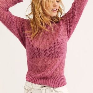 Free people light and lofty sweater
